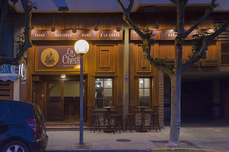 vinilo y rotulacion la chera restaurante huesca